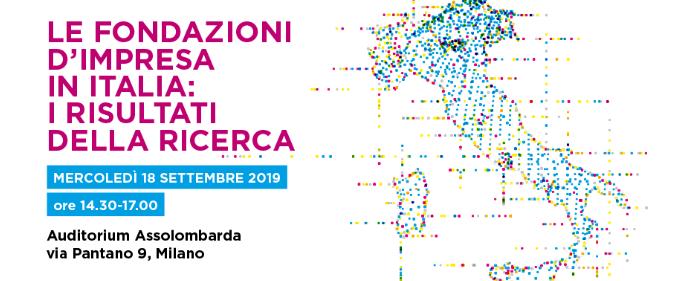 Le fondazioni d'impresa in Italia