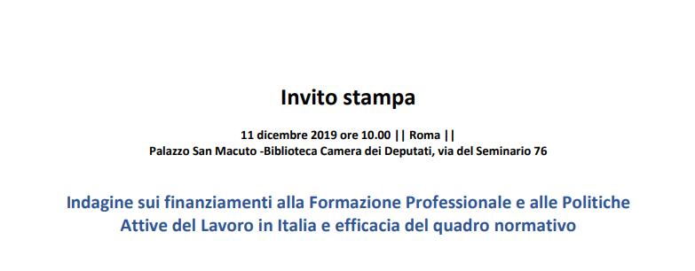 Indagine Italia 2019