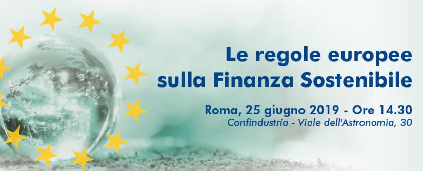 le regole europee sulla finanza sostenibile