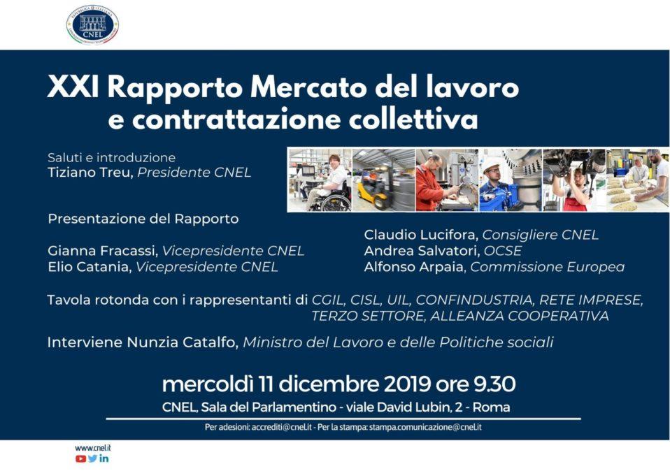 Cnel Presentazione rapporto 11 dicembre 2019